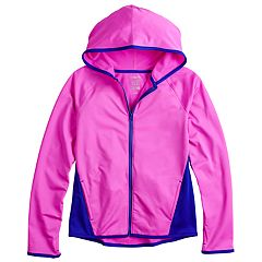 Girls 7-16 SO® Performance Full Zip Jacket