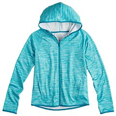 Girls 7-16 SO® Performance Full Zip Jacket