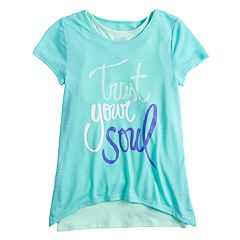 Girls 7-16 SO® Double-Layered Tulip Hem Tee