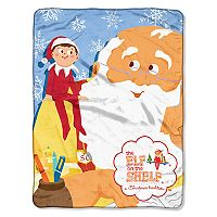 The Elf on the Shelf® Santa Parade Micro Raschel Throw