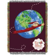 The Elf on the Shelf® Elf Travels Tapestry Throw