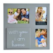 "Melannco ""Home"" 3-Opening Collage Frame"