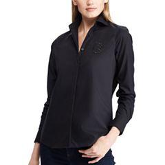 Women's Chaps No Iron Broadcloth Shirt