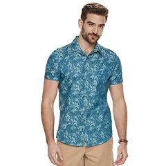 Men's Marc Anthony Slim-Fit Resort Button-Down Shirt