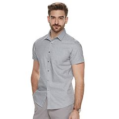 Men's Marc Anthony Slim-Fit Resort Button-Down Shirt