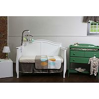 Nurture Basix Cocoa Leaf 3-pc. Nursery Bedding Set