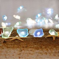 Manor Lane 10-ft. Seaglass String Lights