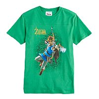 Boys 8-20 Legend Of Zelda Tee