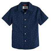 Boys 8-20 Urban Pipeline  Graphic Button-Down Shirt