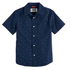 Boys 8-20 & Husky Urban Pipeline  Graphic Button-Down Shirt