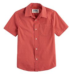 Boys 8-20 Urban Pipeline  Graphic Button-Down Shirt