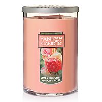 Yankee Candle Sun-Drenched Apricot Rose Tall 22-oz. Candle Jar