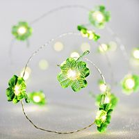 Manor Lane 10-ft. Clover String Lights