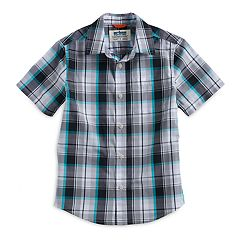 Boys 8-20 Urban Pipeline® Max Wear Button-Front Shirt