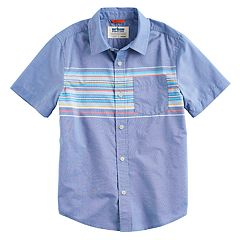 Boys 8-20 & Husky Urban Pipeline™ Max Wear Button-Front Shirt