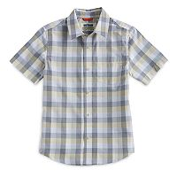 Boys 8-20 Urban Pipeline® Max Wear Yard-Dyed Button-Front Shirt