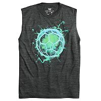 Boys 8-20 Tek Gear® Electric Ball Muscle Tee