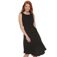 Women's ELLE™ Fit & Flare Midi Dress