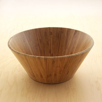 Food Network Herb Garden Bamboo Salad Bowl
