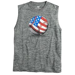 Boys 8-20 Tek Gear® America's Past Time Muscle Tee