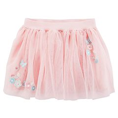 Baby Girl Carter's Floral Tulle Skirt
