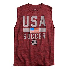 Boys 8-20 Tek Gear® Soccer Muscle Tee