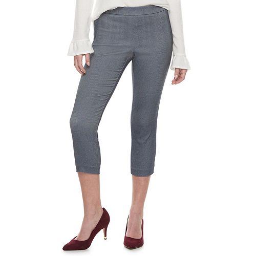Women's ELLE™ Pull-On Capri Pants
