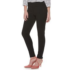 Women's ELLE™ Pull-On Slim Ankle Pants