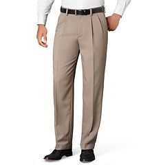 Big & Tall Van Heusen Classic-Fit No-Iron Pleated Dress Pants