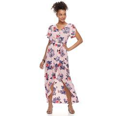 Juniors' Candie's® Floral Maxi Romper