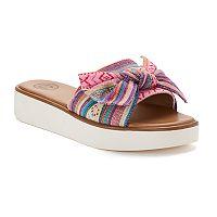 SO® Dragonfish Women's Slide Sandals