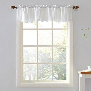 Top of the Window Georgia Battenburg Crochet Window Valance