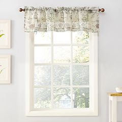 Top of the Window Wildflower Sheer Window Valance