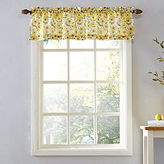 Top of the Window Sunflower Window Valance