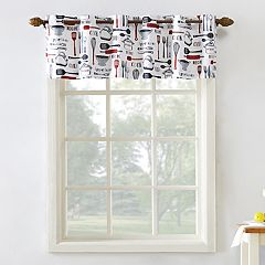 Top of the Window Bistro Kitchen Window Valance