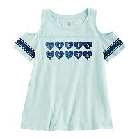 Girls 7-16 & Plus Size SO® Cold Shoulder Tee
