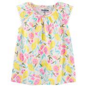 Toddler Girl OshKosh B'gosh® Flutter Sleeve Floral Top