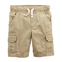 Boys 4-8 Carter's Pull On Cargo Shorts
