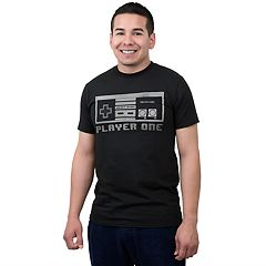 Big & Tall Men's Fifth Sun 'Player One' Controller Graphic Tee