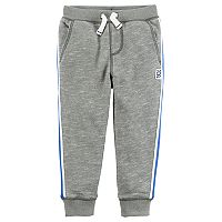 Boys 4-8 Carter's Textured Jogger Pants