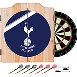 Tottenham Hotspur FC Wood Dart Cabinet Set