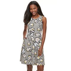 Women's Apt. 9® Jacquard Fit & Flare Dress
