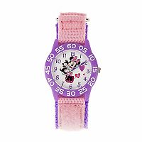 Disney's Minnie Mouse & Kitty Cat Kids' Time Teacher Watch