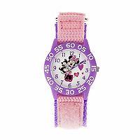 Disney's Minnie Mouse & Kitty Cat Kids' Time Teacher Watch