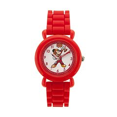 Disney's Mickey Mouse Roadster Racer Kids' Time Teacher Watch