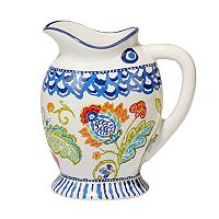 Certified International San Marino 3D Fish Pitcher