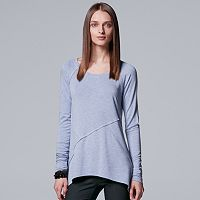 Women's Simply Vera Vera Wang Mixed-Media Top
