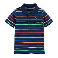 Boys 4-8 Carter's Striped Polo