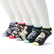 Men's Character Low-Cut 5-Pack Socks