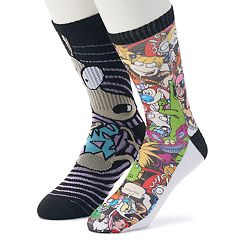 Men's Character Athletic Crew 2-Pack Socks